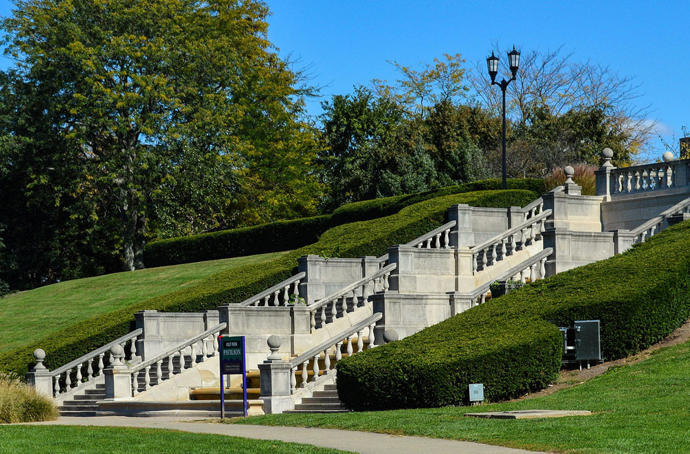 Ault Park Pavillion Stairs by Jennifer Smith