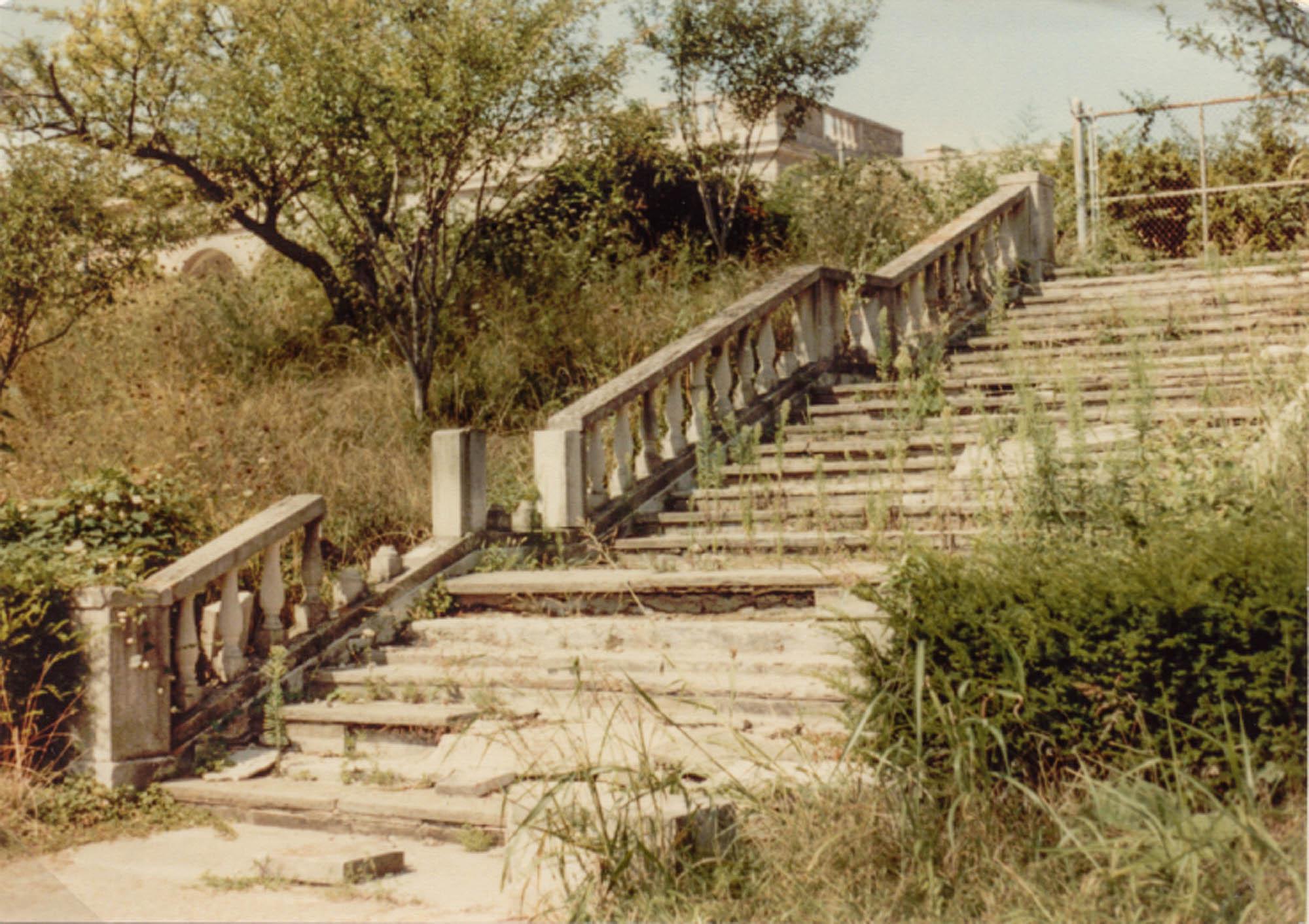 Ault Park Pavillion Stairs
